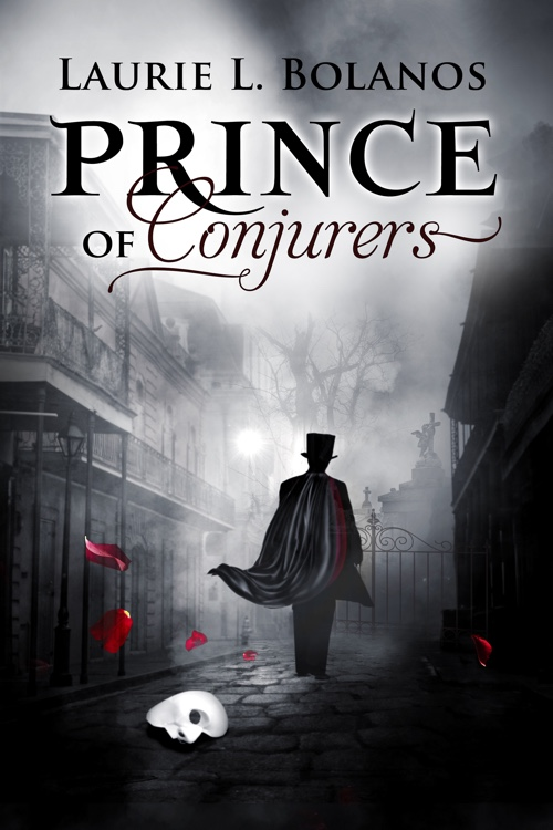 Romance Book Cover Illustration : Prince of conjurers paranormal romance book cover design