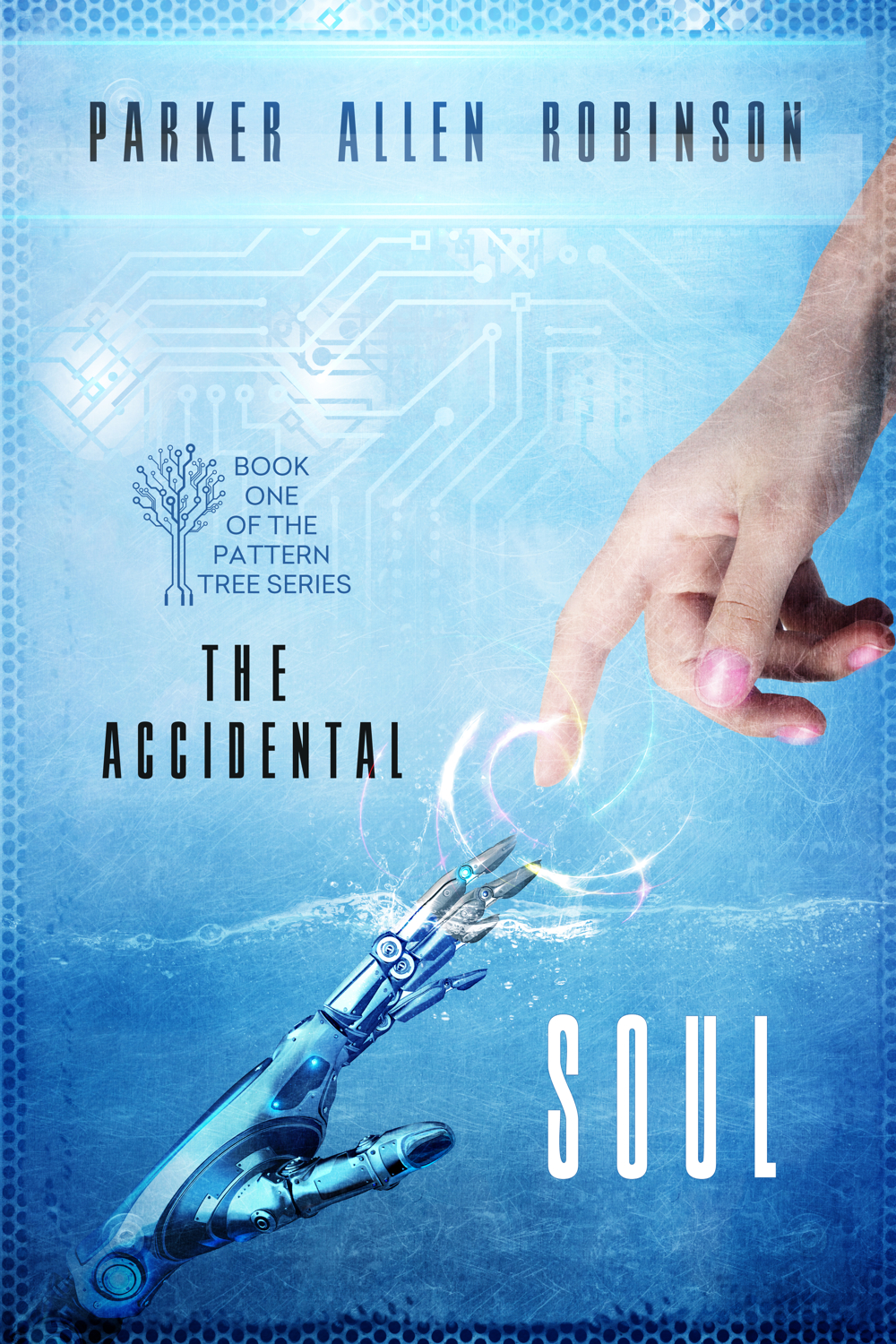 Science Book Cover Design Examples ~ The accidental soul science fiction book cover design
