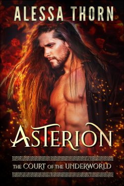 Asterion: The Court of the Underworld (Book 1) : A Paranormal Greek Gods Romance